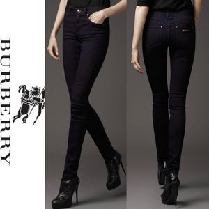 Burberry indigo Thurlestone Skinny Jeans Size: 26
